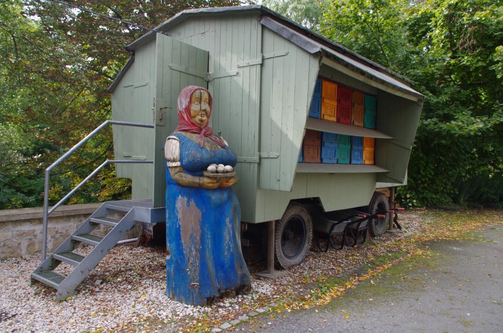 Ein Bienenwanderwagen aus der DDR
